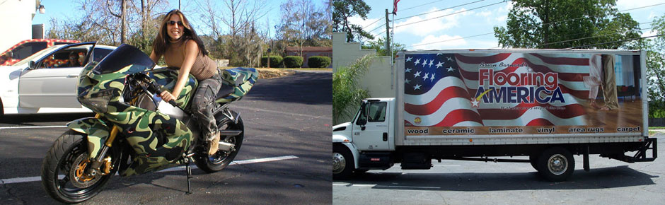 bike and van wraps